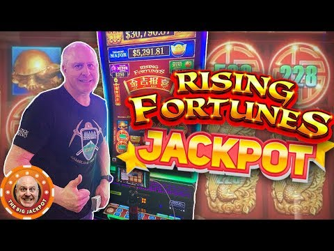 💸TOP UP BONUS! 💸 Rising Bonus Win on Rising Fortunes Slot! 🎰 - 동영상
