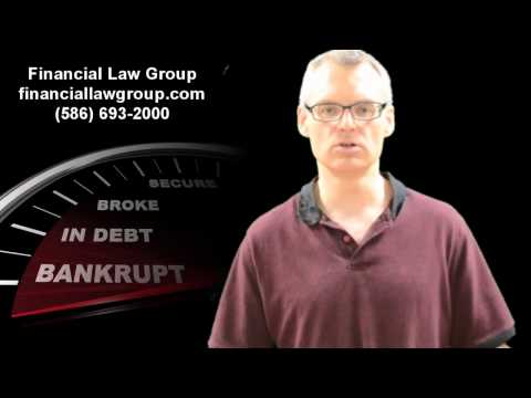 Michigan Attorney Discusses getting paid for debts when client is in Bankruptcy