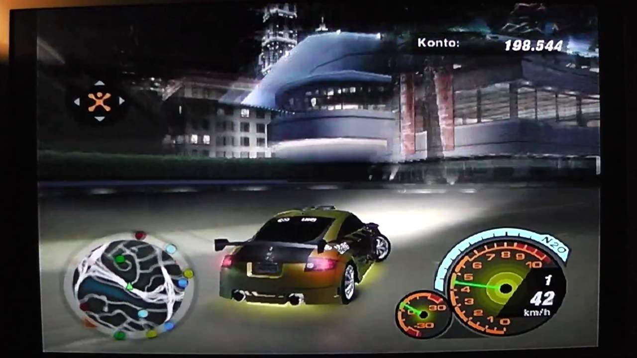 need for speed underground 2 free roam german ps2 hd. Black Bedroom Furniture Sets. Home Design Ideas