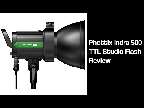 Phottix Indra 500 TTL Studio Flash Review