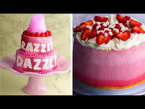 These 3 Raspberry Cakes are Perfect for Summer! - 3 chiếc bánh mâm xôi hoàn hảo cho mùa hè!