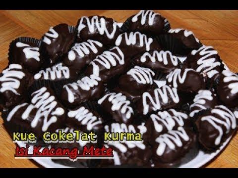Cara Membuat Kue Cokelat Kurma Isi Kacang Mete Enak Dan Praktis Ala Zasanah