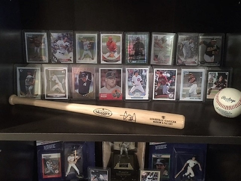 Baseball Card Room Man Cave Tour