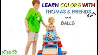 Lear Colors With Thomas & Friends Ride & Balls