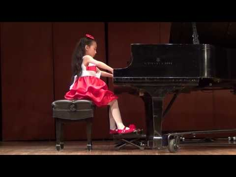 Harmony Zhu age 7  Chopin FantaisieImpromptu, Op66