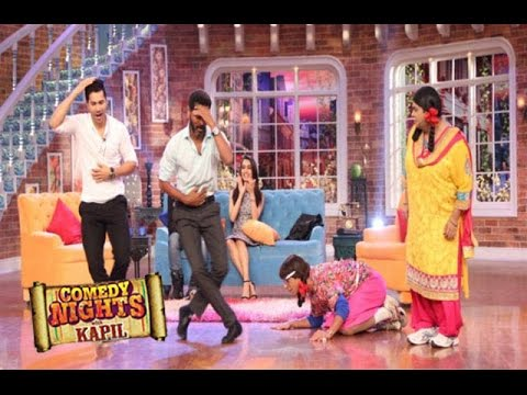 Varun, Shradha, Remo & Lauren PROMOTE ABCD 2 | Comedy Nights with Kapil