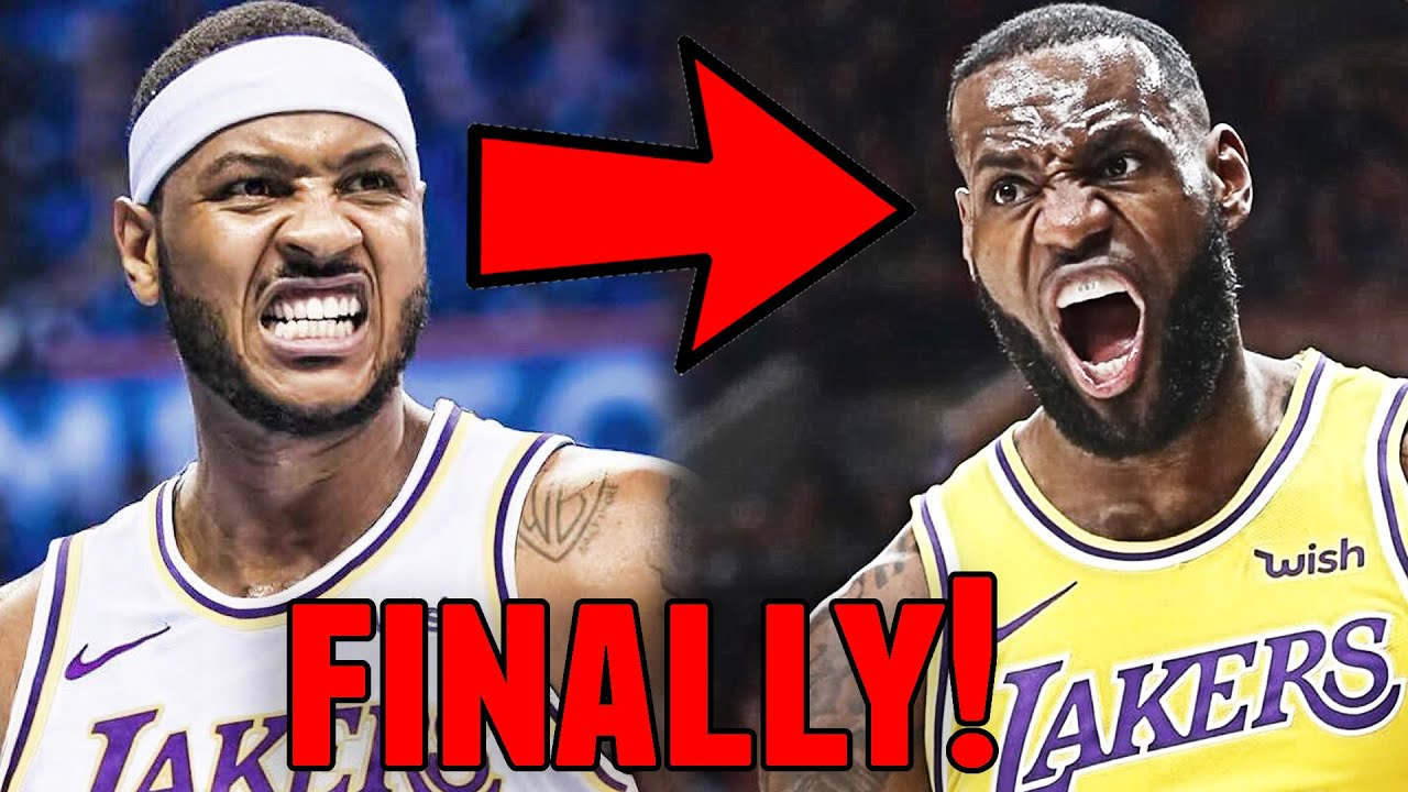 Los Angeles Lakers Sign Carmelo Anthony & Malik Monk! Warriors Sign Steph Curry! Patty Mills to Nets