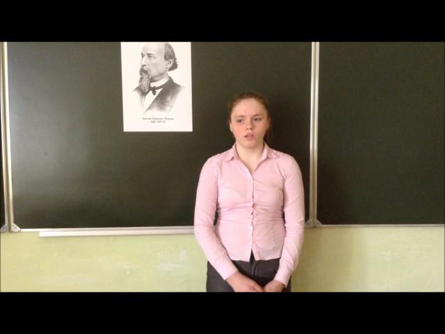 Изображение предпросмотра прочтения – АнастасияБахметьева читает произведение «Мороз, Красный нос» Н.А.Некрасова