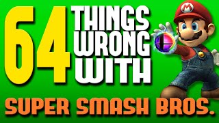 One of Really Freakin' Clever's most viewed videos: 64 Things WRONG With Super Smash Bros.