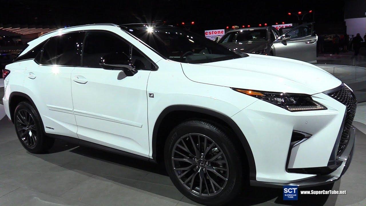 2018 Lexus Rx 450h F Sport Exterior And Interior Walkaround Detroit Auto Show