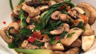 Hmong Mushroom Pepper Recipe