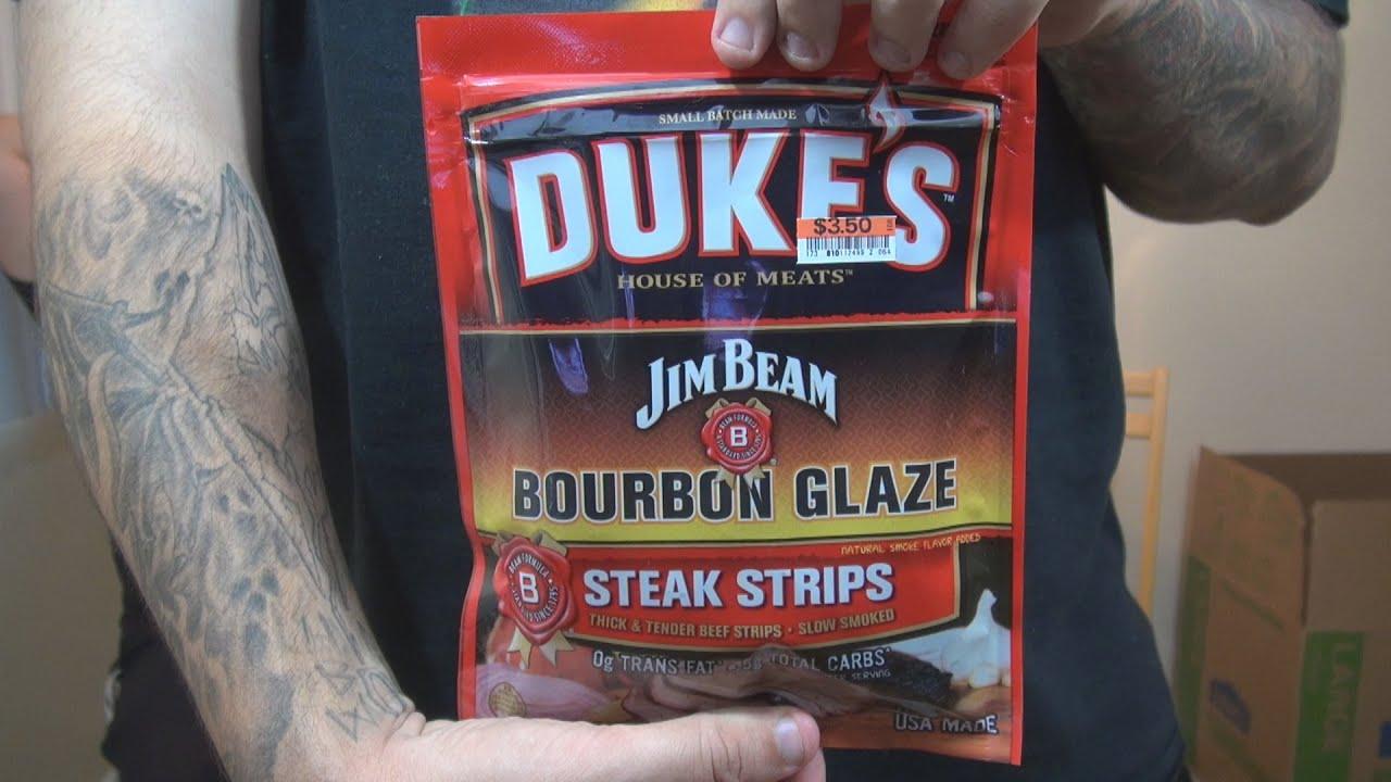 WE Shorts   Dukeu0027s House Of Meats Jim Beam Bourbon Glaze Steak Strips