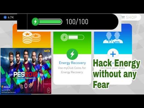 Hack energy in Pes 2018 Android 100 % working