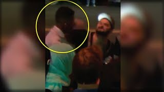 BREAKING: BLACK TRUMP SUPPORTER SUCKER PUNCHED BY LIBERAL… SEE THE VIDEO THE MEDIA WON'T AIR