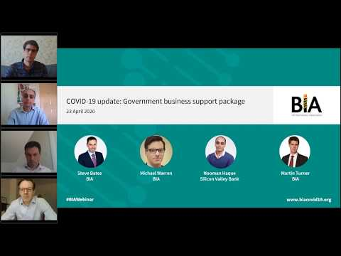 COVID-19 Update: Government Business Support Package And Implications For Members