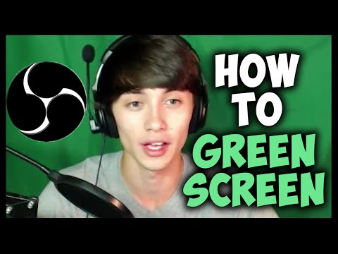 How to Green Screen with OBS! Easy & Free!