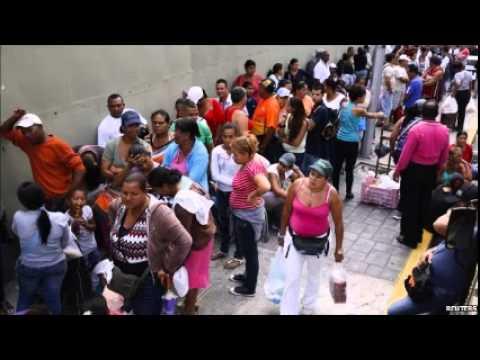 Venezuelan shop owners arrested over long queues
