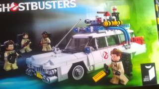 LEGO Haul. Ghostbusters Ecto-1 and Business Card Holder