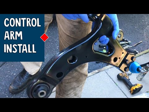How to  Install a Control Arm | Buick Rendezvous