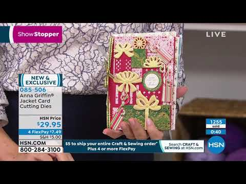 HSN | Anna Griffin Elegant Paper Crafting 10.02.2019 - 09 PM