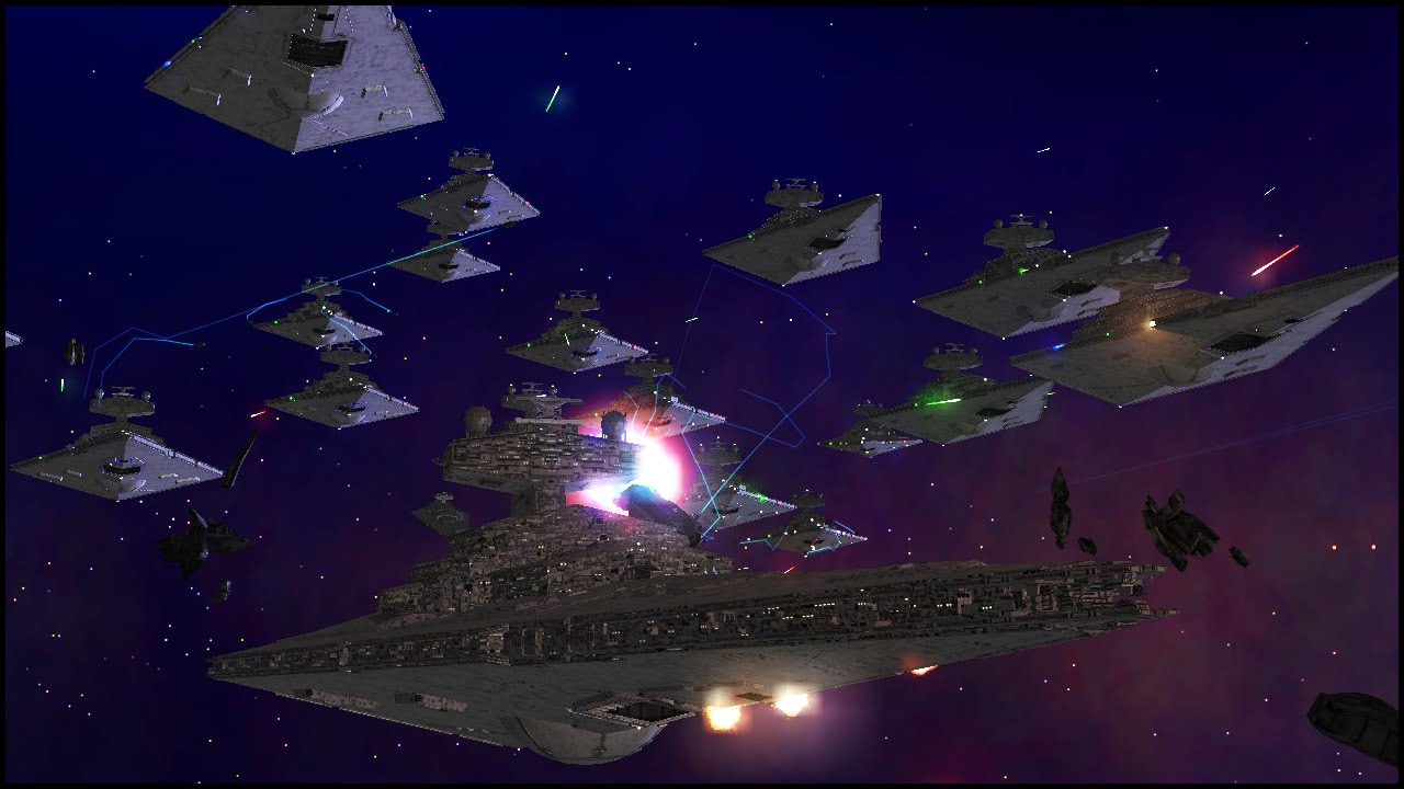 Star Destroyer Spam Star Wars Warlords Mod Gameplay Youtube