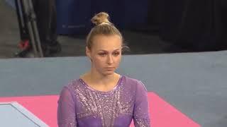 Daria Spiridonova Bars Event Finals 2020 Melbourne World Cup