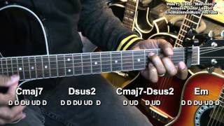 MATRIMONY Wale Ft. Usher Easy Chords Guitar Lesson EricBlackmonMusicHD