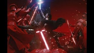 Kylo Ren and Rey vs Praetorian Guards but its 10x better