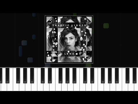 "Lena - ""Traffic Lights'' Piano Tutorial - Cover - How To Play - Synthesia"
