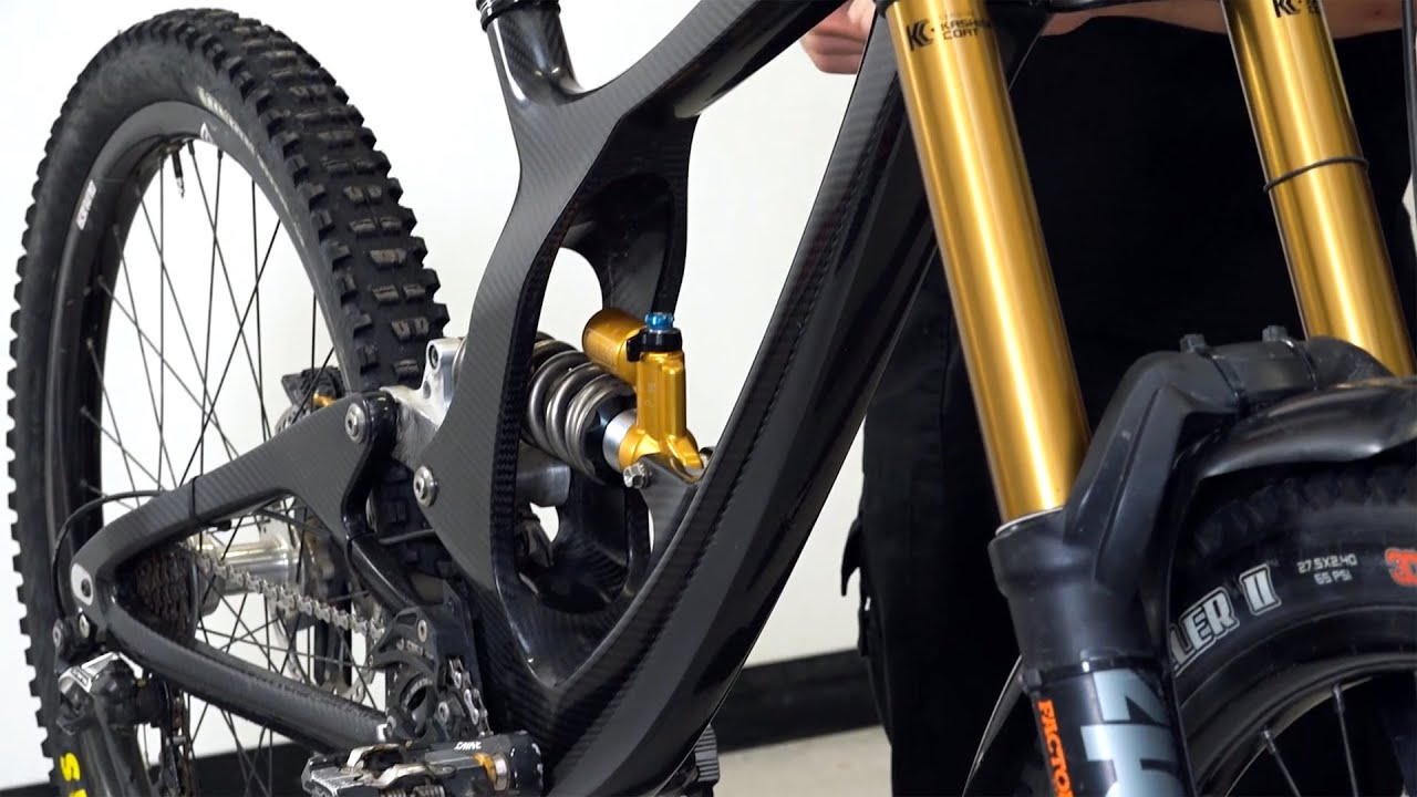 Making a Carbon Fibre Bike Frame – From CAD Design to Downhill Race -  YouTube