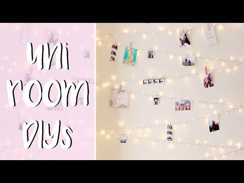 5 Easy DIYs To Decorate Your Uni Room
