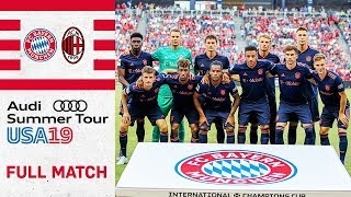Full Match | FC Bayern vs. AC Milan 1-0 | International Champions Cup 2019