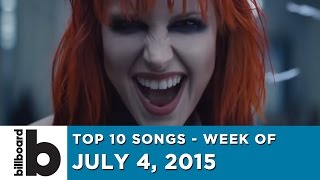 Top 10 Songs - Week Of July 4, 2015