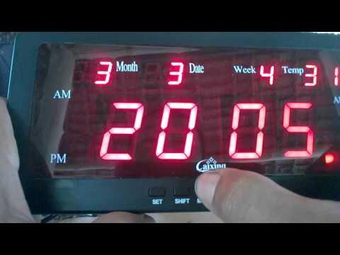инструкция к часам caixing cx-818