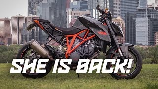 The Superduke is FINALLY BACK! | FIRST RIDE | BAD DRIVERS
