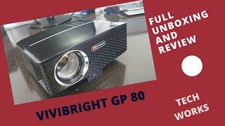 Vivibright GP 80 Unboxing and Review