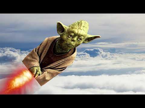 Yoda takes a