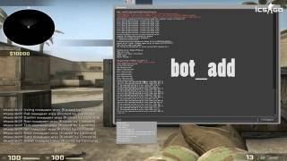 Как добавить ботов в CS GO