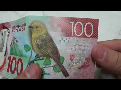 NZD 100 New Zealand Currency Note 2018