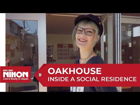 Inside an Oakhouse Social Residence in Tokyo