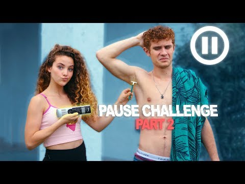 PAUSE CHALLENGE (Sister VS Brother) PART 2