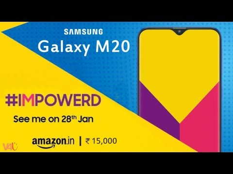 Samsung Galaxy M20 Official Look, Price, Release Date, Specs, Features, Launch, Trailer, First Look