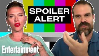 Scarlett Johansson, David Harbour & More Talk 'Black Widow' Spoilers!