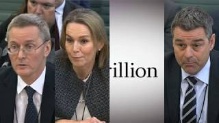Carillion bosses apologise in front of committee of MPs