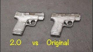S&W Shield 2.0 vs Original Shield