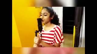 Henniza Fathima singing 'Roma Bangkok' Italian Song.