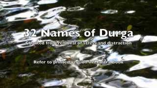 Morning Chants 32 Names of Durga