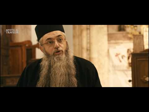 Aramaic Interview with Fr Brutos Bethlehem, Syrian Orthodox Church Virgin Mary