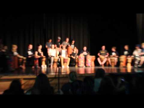 Drum Performance from Arts Camp YRDSB 2015