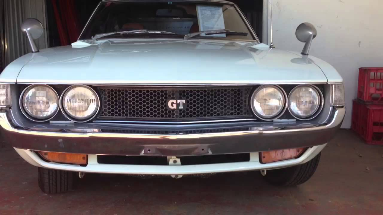 Rare Jdm Ta22 Gt Twin Cam Celica 1975 Edward Lees Youtube